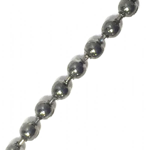 2mm gun metal ball chain -- 6523029